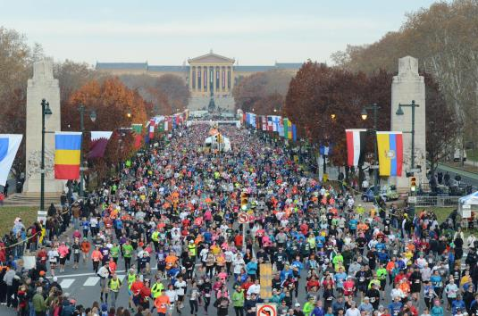 Photo Credit: Jim McWilliams / The Philadelphia Marathon
