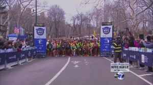 United NYC Half Marathon Start Source: ABC online