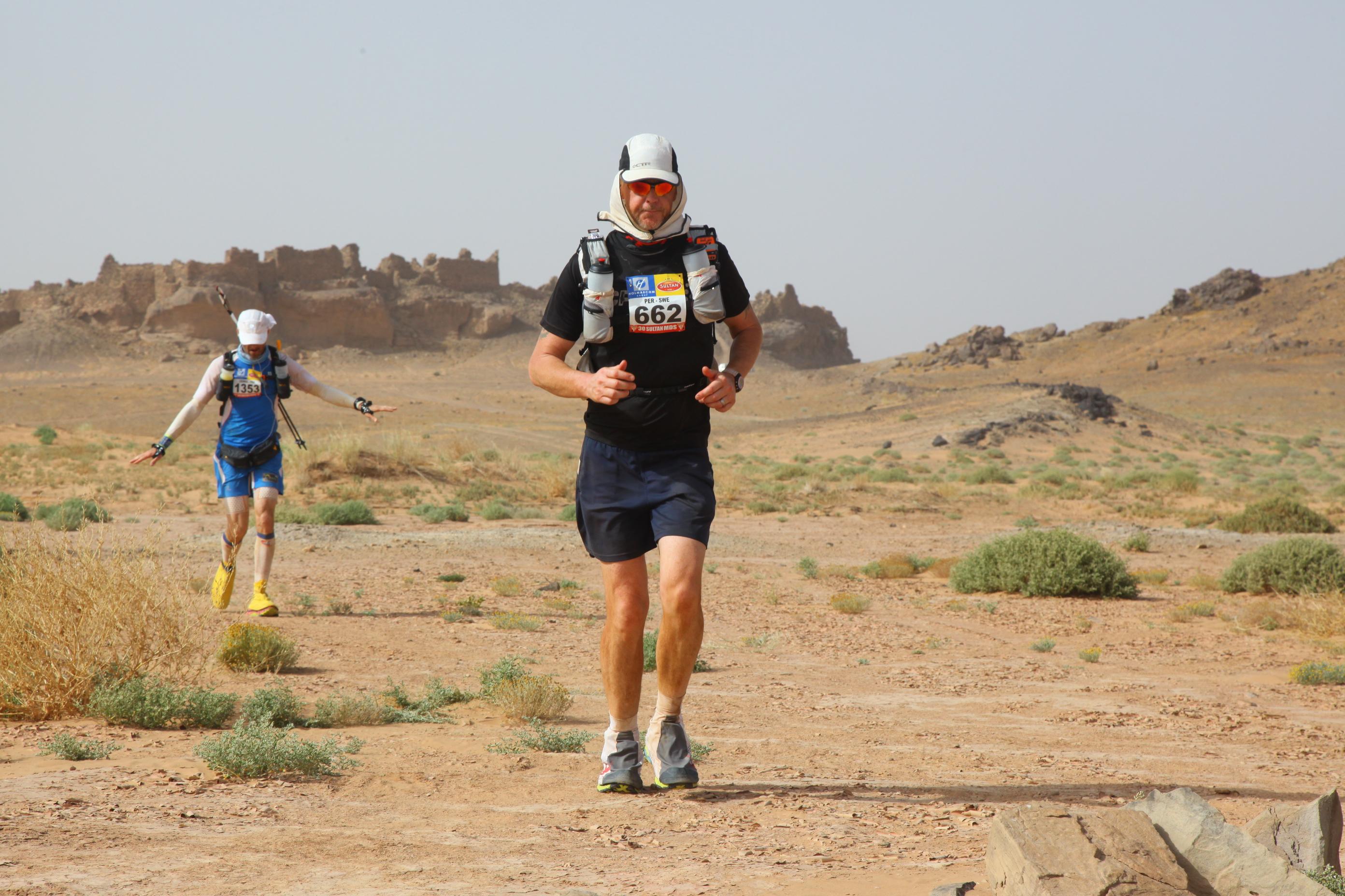 Sir Randulph Fiennes - Marathon des Sables 2015