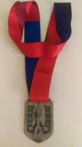 2016 Bank Of America Chicago Marathon Medal